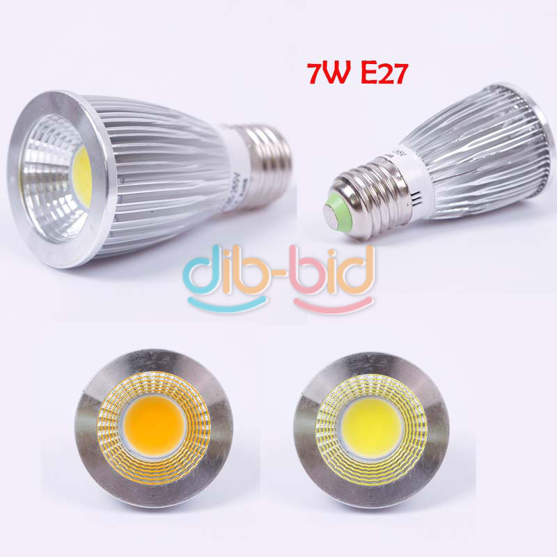 ultra bright mr16 gu10 e27 3w 5w 7w dimmable led cree cob spot light lamp bulb ebay. Black Bedroom Furniture Sets. Home Design Ideas