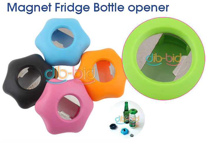 New Star Beer Bottle Opener Fridge Magnet Refrigerator